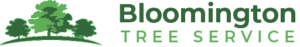 bloomington tree service logo